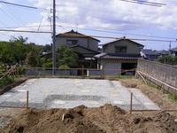 柱状改良後の砕石敷き均し状況5